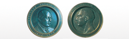 Monedas conmemorativas de August Kongsted